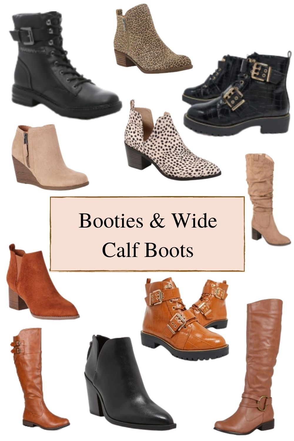 How to Buy Boots for Fall - Wide Width